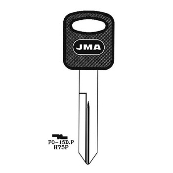 1995-2015 FORD KEY 8 CUTS FO-15D H75P