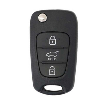 2012 - 2014 HYUNDAI VELOSTER REMOTE FLIP KEY (3 BUTTONS)