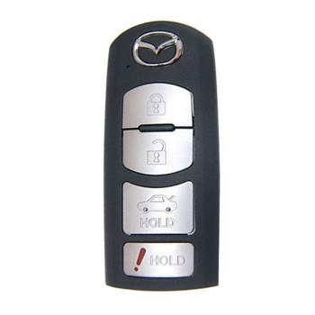 2010 - 2013 MAZDA 3 SEDAN SMART KEY 4B - WAZX1T768SKE11A03