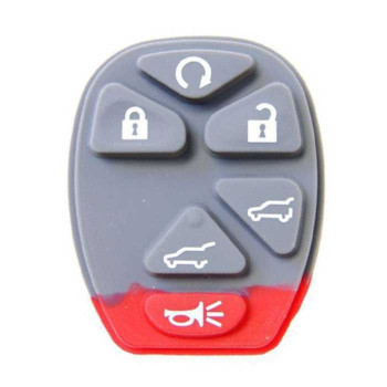 2007-2012 GM 6 BUTTON RUBBER PAD