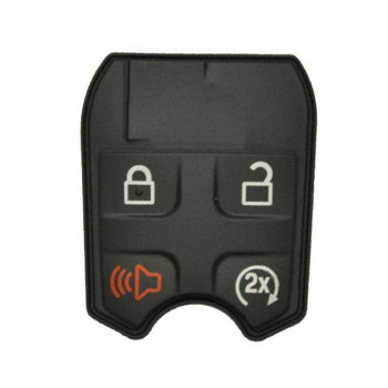 FORD REMOTE KEY 80 BITS RUBBER PAD (4 BUTTONS)