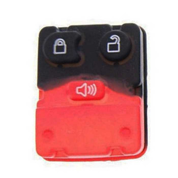 1998-2012 FORD LINCOLN MERCURY MAZDA 3 BUTTONS RUBBER PAD
