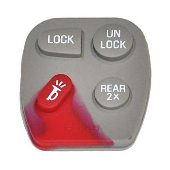 1996-2005 GM RUBBER PAD (4 BUTTONS)