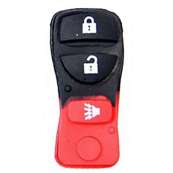 2002 - 2012 NISSAN RUBBER PAD (3 BUTTONS)