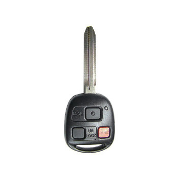 1998 - 2002 TOYOTA LANDCRUISER REMOTE HEAD KEY (4C CHIP)