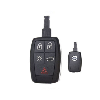 2008 - 2013 VOLVO KEY REMOTE (A) (NO KEYLESS ENTRY SYSTEM / NO BUTTONS ON THE DOORS HANDLE)
