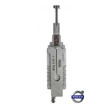 1993-2007 LISHI VOLVO 4 TRACK 2 in 1 HIGH SECURITY PICK & DECODER *NE66*