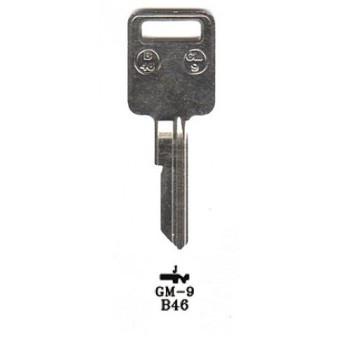 1970-1982 JIMA GM KEY BLANK *B46/P1098J*