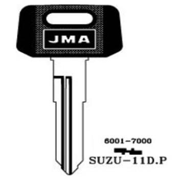 JMA SUZUKI MOTORCYCLE KEY SUZU-11D.P - SZ10RP