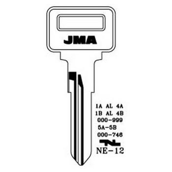 1977-2007 JMA VOLVO KEY BLANK - VL6 - X80