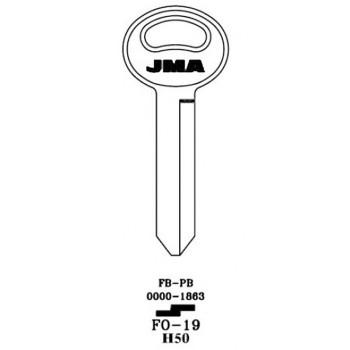 1966-2004 JMA FORD KEY BLANK *H50*
