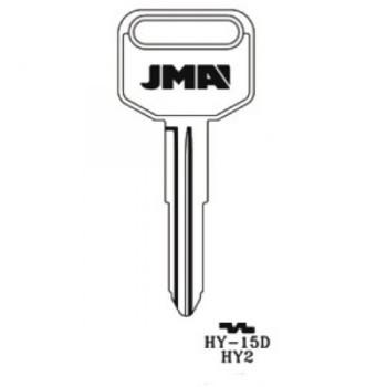 1986-1989 JMA HYUNDAI KEY BLANK *HY2*