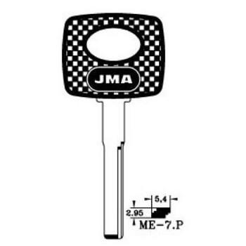 1998-2009 JMA MERCEDES KEY BLANK *HU64P*