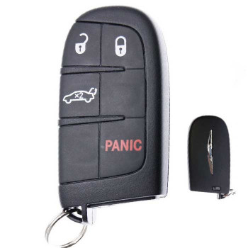 2015 - 2017 CHRYSLER 200 SMART KEY - M3M-40821302 - ID47- 433Mhz