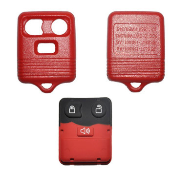 1999 - 2012 FORD LINCOLN MERCURY MAZDA REMOTE SHELL REPLACEMENT KIT (3 BUTTONS)