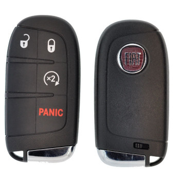 2016 - 2017 FIAT 500 SMART KEY 4B W/ REMOTE START - M3N-40821302- ID47