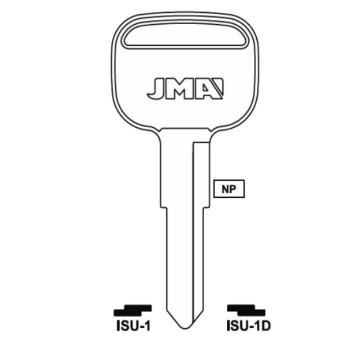 JMA ISUZU GMC KEY BLANK - ISU-1