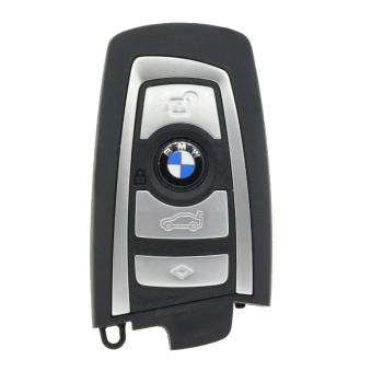 2012-2018 BMW KEYLEES GO SMART KEY -CONTINENTAL-SILVER - 5WK49663 - 315 Mhz