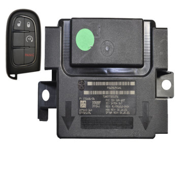 DODGE RAM WIRELESS RFH CONTROL MODULE WITH KEY - P56046941AG