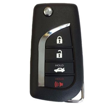 2018 toyota key. modren key 2018 toyota camry remote flip key  hyq12bfb intended toyota key o