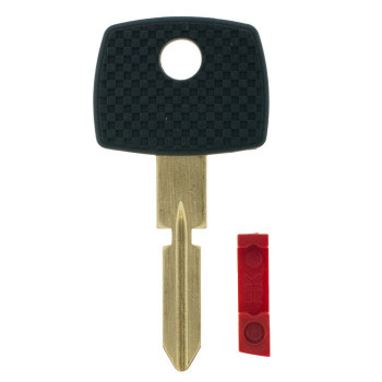 MERCEDES 4 TRACK HIGH SECURITY TRANSPONDER KEY SHELL (HU39) (AFTERMARKET)