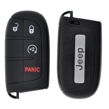 2015 - 2018 JEEP SMART KEY W/ STARTER - M3N-40821302 - ID47