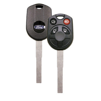 2012 -2018 FORD HIGH SECURITY REMOTE HEAD KEY 4 BOTTON