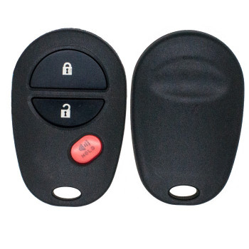 2004 - 2018 TOYOTA KEYLESS ENTRY REMOTE COVER WITH PAD