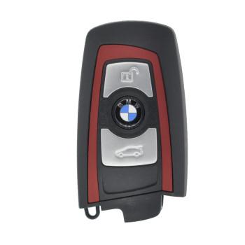 2012 - 2015 BMW F SERIES KEYLESS GO KEY (HUF5661) - RED