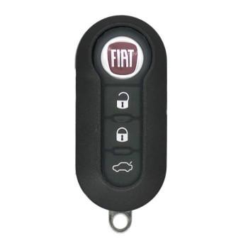 2013 - 2018 FIAT REMOTE FLIP KEY - DELPHI BCM - LTQF12AM433TX -434Mhz