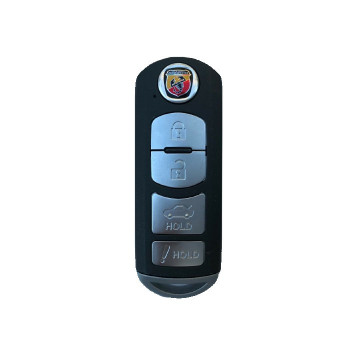 2017-2019 FIAT 124 Spider ABARTH SMART KEY - WAZSKE13D02 - WAZSKE13D01 - 315Mhz -