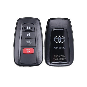 2019-2020 TOYOTA RAV4 SMART KEY 4B Hatch - HYQ14FBC - 0351 - 315 Mhz - JAPAN