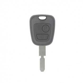 PEUGEOT REMOTE HEAD KEY SHELL - 2 BUTTON